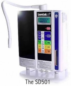 The SD501 produces The World's Healthiest Water - Medical Grade Alkaline Ionized Water, known as Kangen Water™!